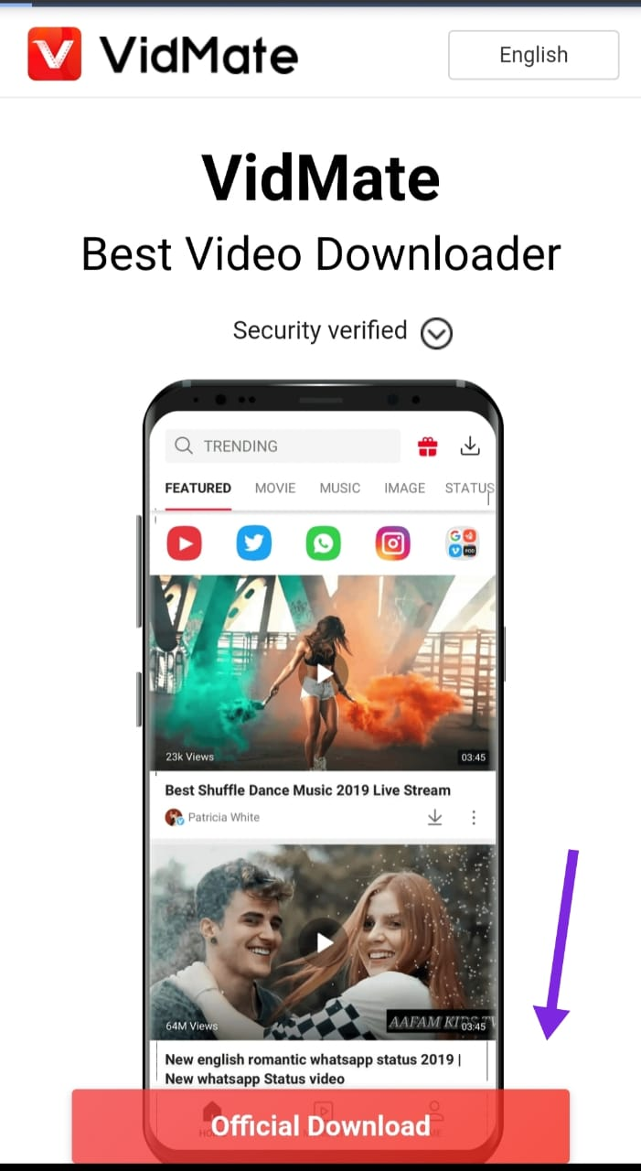 Vidmate app कैसे डाउनलोड करें